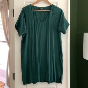 Madewell Novel Shift Dress (Smoky Spruce)